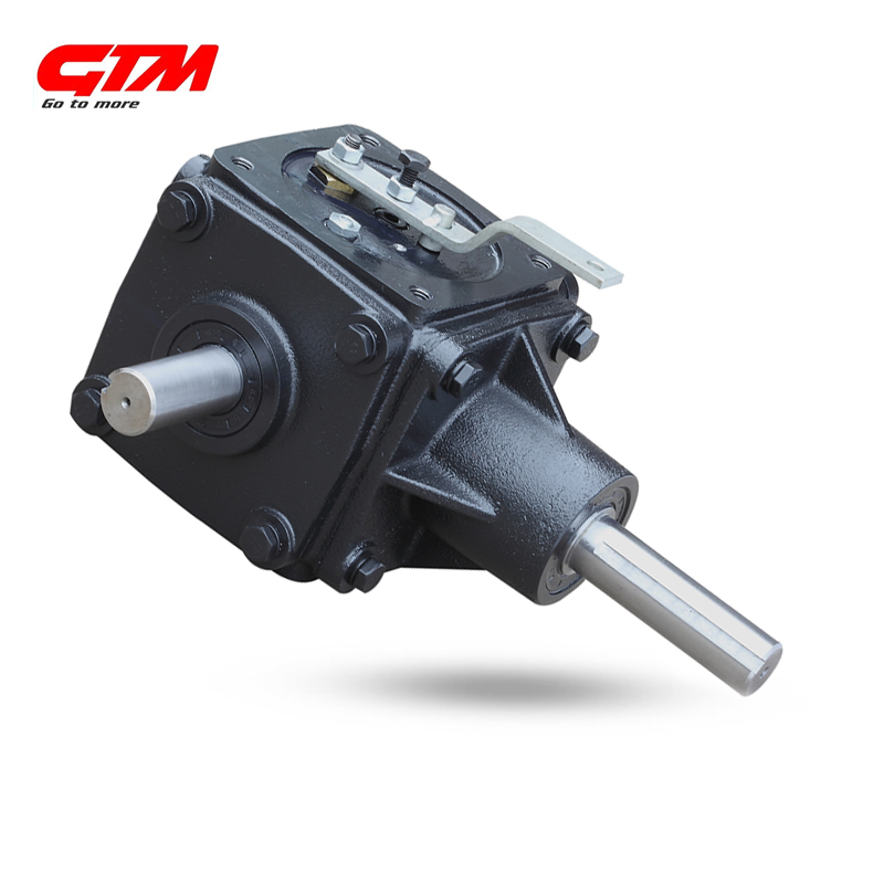 High performance grain transportation gearbox